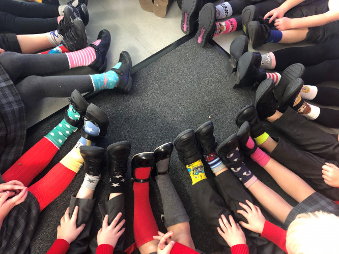 Primary Odd Socks Day2