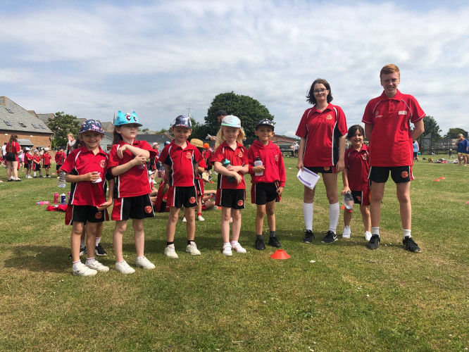Sports Ambassadors With Primary